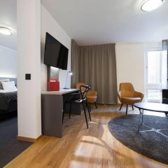 Hotel Birger Jarl 4* Стандартный номер с двуспальной кроватью фото 12