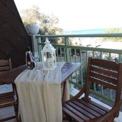 Отель Aroma Stegna Пляж Стегна балкон