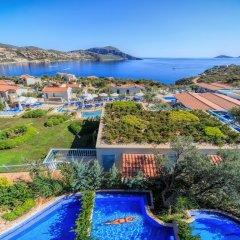 Asfiya Sea View Hotel Турция, Киник - отзывы, цены и фото номеров - забронировать отель Asfiya Sea View Hotel онлайн бассейн фото 8