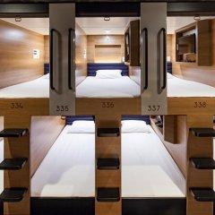 Отель Y's Cabin Yokohama Kannai 2* Капсула в мужском общем номере фото 2