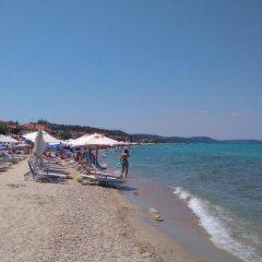 Отель Halkidiki Palace пляж фото 2