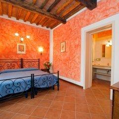 Отель Villa Di Nottola 4* Люкс с различными типами кроватей фото 4