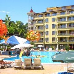 Отель Summer Dreams Болгария, Солнечный берег - отзывы, цены и фото номеров - забронировать отель Summer Dreams онлайн бассейн фото 3