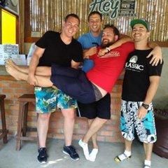 Hey beach hostel Ланта фитнесс-зал фото 3