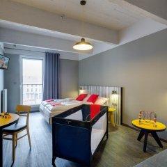 Отель Meininger Brussels City Center Брюссель комната для гостей фото 3