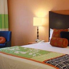Отель Fairfield Inn & Suites by Marriott Albuquerque Airport 2* Стандартный номер с различными типами кроватей фото 7
