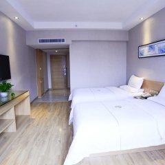 Отель Insail Hotels Railway Station Guangzhou 3* Номер Делюкс с различными типами кроватей