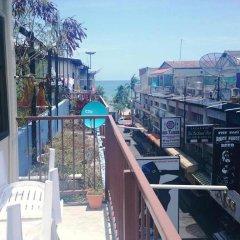 Отель The Nelson Guest House Pattaya балкон