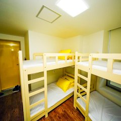 Отель 24 Guesthouse Seoul City Hall 2* Кровать в женском общем номере с двухъярусной кроватью фото 4
