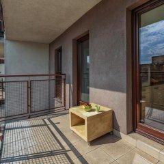 Отель Apartamenty Aparts балкон фото 2