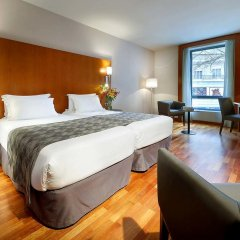 Отель Eurostars Lisboa Parque 4* Стандартный номер с различными типами кроватей фото 14