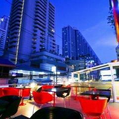 Отель HEAVEN@4 Бангкок приотельная территория