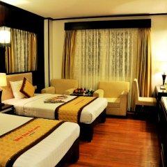 Muong Thanh Three Star Hotel 3* Номер Делюкс фото 3