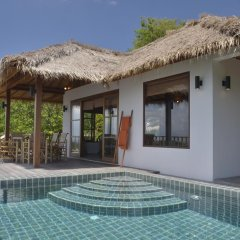 Отель Cape Shark Pool Villas 4* Семейная студия с двуспальной кроватью фото 7