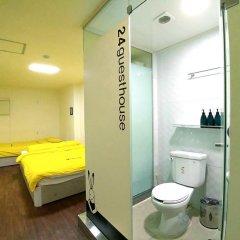 Отель 24 Guesthouse Seoul City Hall 2* Улучшенный номер с различными типами кроватей фото 5