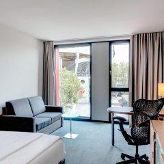 Отель Hilton Garden Inn Stuttgart Neckar Park 3* Стандартный номер с различными типами кроватей фото 4