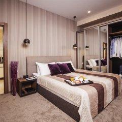 Апарт-отель Senator Maidan Стандартный номер с различными типами кроватей фото 5