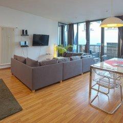 Отель Lodge-Leipzig 4* Апартаменты с различными типами кроватей фото 9
