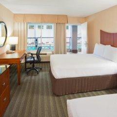 Отель Crowne Plaza Bloomington Msp Airport / Moa Блумингтон комната для гостей