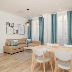 Апартаменты Contemporary Apartment in Nice комната для гостей фото 5