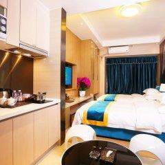 Апартаменты Guangzhou Chimelong Heefun International Service Apartment Гуанчжоу удобства в номере