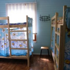 Hostel Favorit Кровать в общем номере с двухъярусной кроватью фото 10