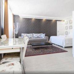 Отель Defne Suites Улучшенные апартаменты с различными типами кроватей фото 31