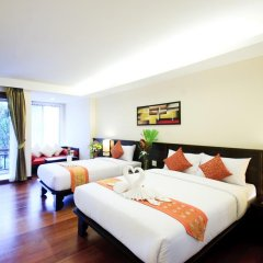 Отель Ao Nang Phu Pi Maan Resort & Spa 4* Номер Делюкс с различными типами кроватей фото 3