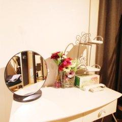 The City Hostel Hongdae Апартаменты с различными типами кроватей фото 16
