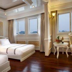Отель Signature Halong Cruise 4* Полулюкс с различными типами кроватей фото 12
