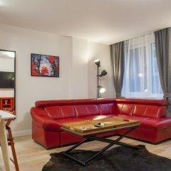 Отель Natalex City Apartments Литва, Вильнюс - отзывы, цены и фото номеров - забронировать отель Natalex City Apartments онлайн комната для гостей фото 4