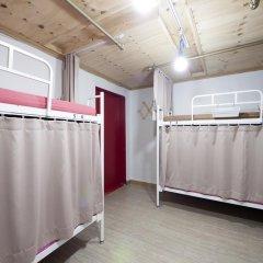 Lazy Fox Hostel Кровать в мужском общем номере с двухъярусной кроватью фото 11