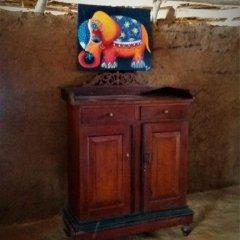 Отель Yakaduru Safari Village Yala 2* Шале с различными типами кроватей фото 8