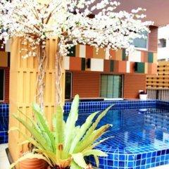 Отель Prom Ratchada Residence Таиланд, Бангкок - отзывы, цены и фото номеров - забронировать отель Prom Ratchada Residence онлайн бассейн