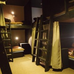 Fukuoka Hana Hostel Кровать в общем номере фото 6