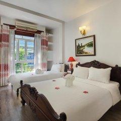 Hanoi 3B Hotel 2* Стандартный семейный номер с двуспальной кроватью фото 4