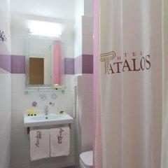 Attalos Hotel 3* Номер Эконом с различными типами кроватей фото 7