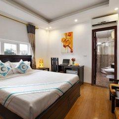 Hanoi Focus Boutique Hotel 3* Представительский номер разные типы кроватей фото 15