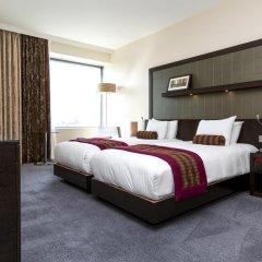 Отель Hilton London Canary Wharf 4* Представительский номер с различными типами кроватей фото 8