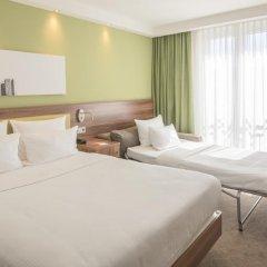 Отель Hampton by Hilton Frankfurt City Centre Messe 3* Стандартный номер с различными типами кроватей фото 5