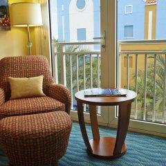 Отель Renaissance Curacao Resort & Casino 4* Стандартный номер с различными типами кроватей