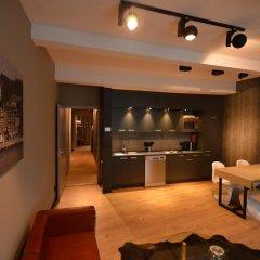 Отель Amosa Liège 3* Апартаменты с различными типами кроватей фото 2