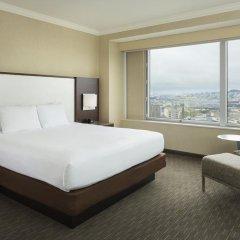 Отель Hilton San Francisco Union Square 4* Люкс с двуспальной кроватью фото 4