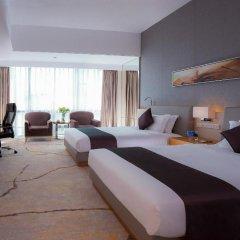Huaqiang Plaza Hotel Shenzhen 4* Номер Делюкс с 2 отдельными кроватями фото 5