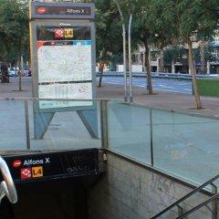 Отель Hola Barcelona Bismark Барселона спортивное сооружение