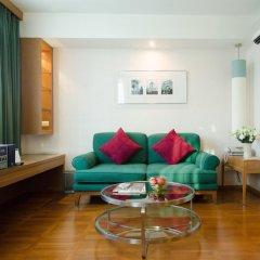 Отель At Ease Saladaeng 4* Номер Делюкс с различными типами кроватей фото 3