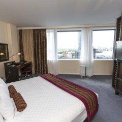 Отель Hilton London Canary Wharf 4* Полулюкс с различными типами кроватей