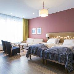 Отель Hotell Bondeheimen 3* Стандартный семейный номер с двуспальной кроватью