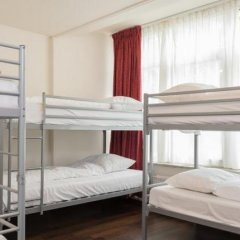 Хостел Castle Кровать в женском общем номере двухъярусные кровати фото 11