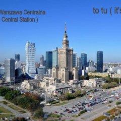 Отель Centrum Studio Польша, Варшава - отзывы, цены и фото номеров - забронировать отель Centrum Studio онлайн балкон